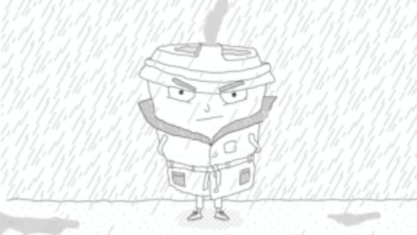 Inspecteur cappuccino. Het regent, misdaad tiert welig en hij is razend kwaad!